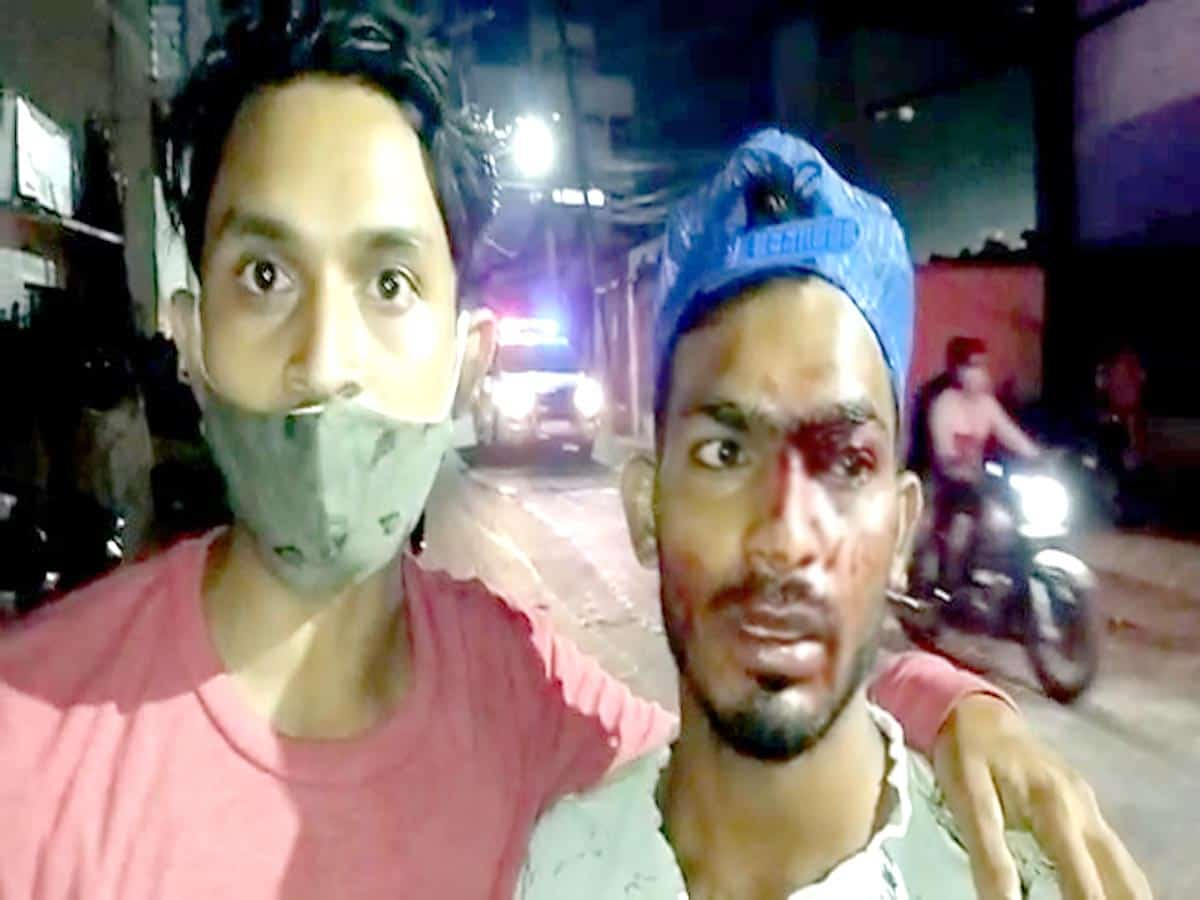 Hyderabad: Public protest at police station after cop assaults youth