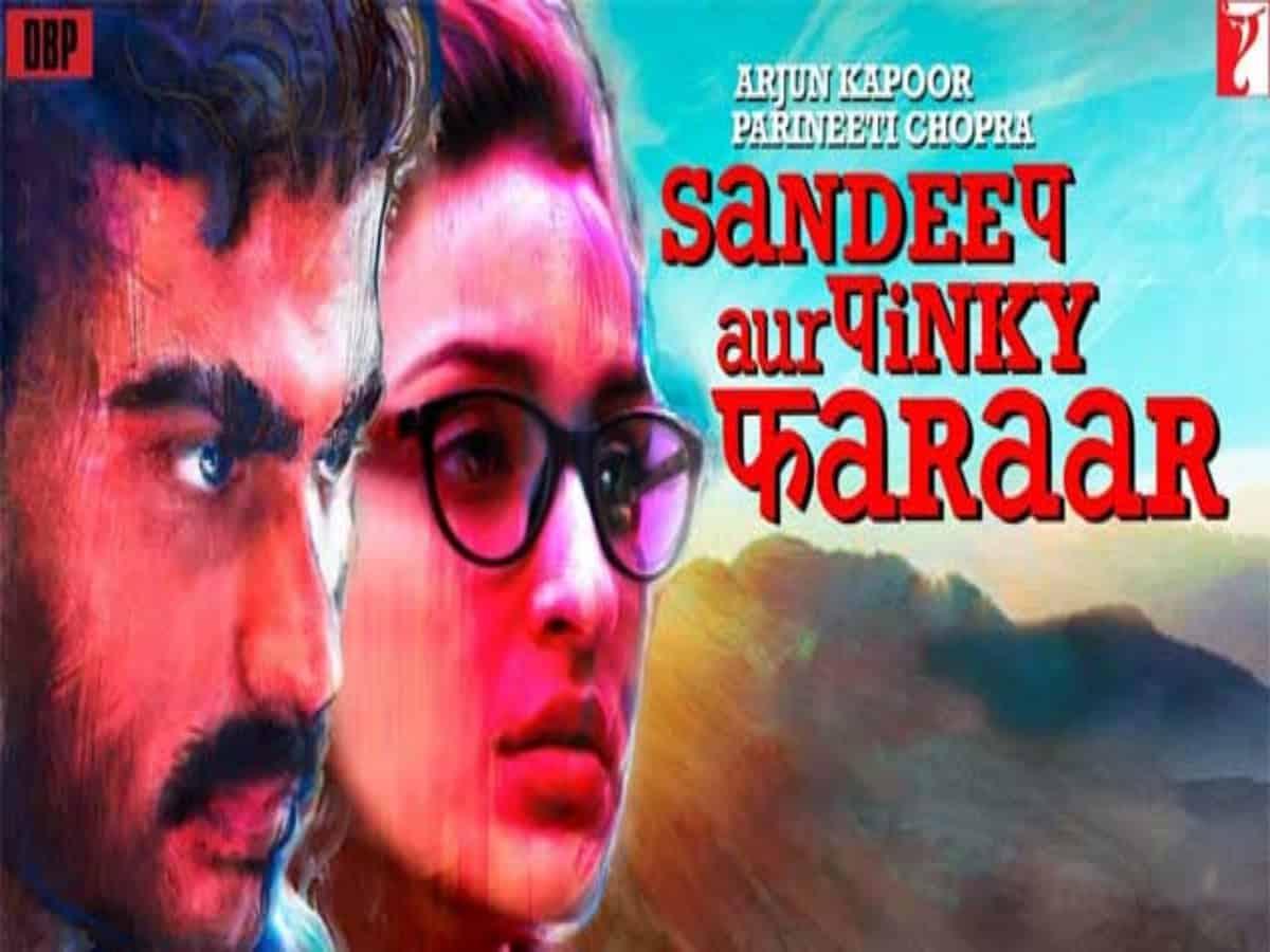 Arjun, Parineeti's 'Sandeep Aur Pinky Faraar' to premiere today