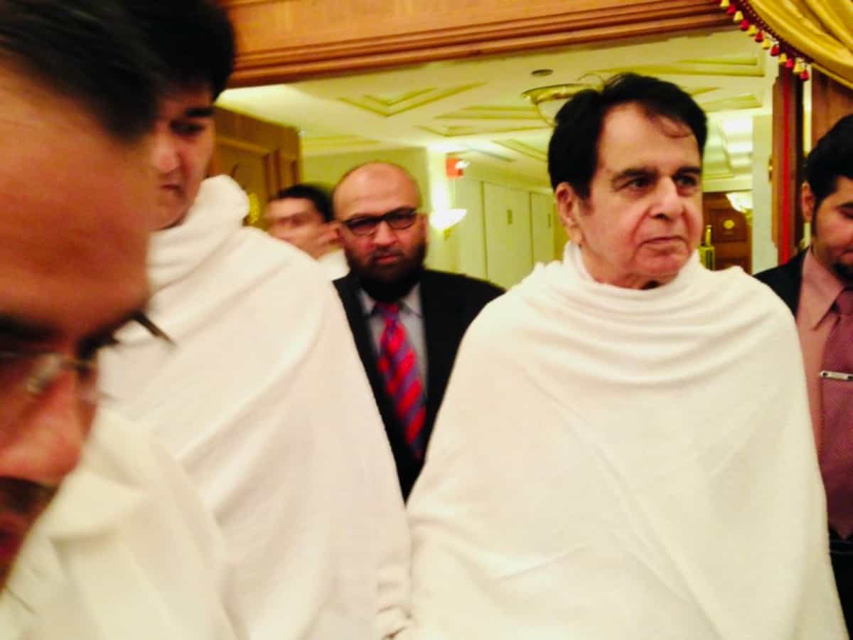 Trending: Dilip Kumar shares throwback pictures of his Umrah
