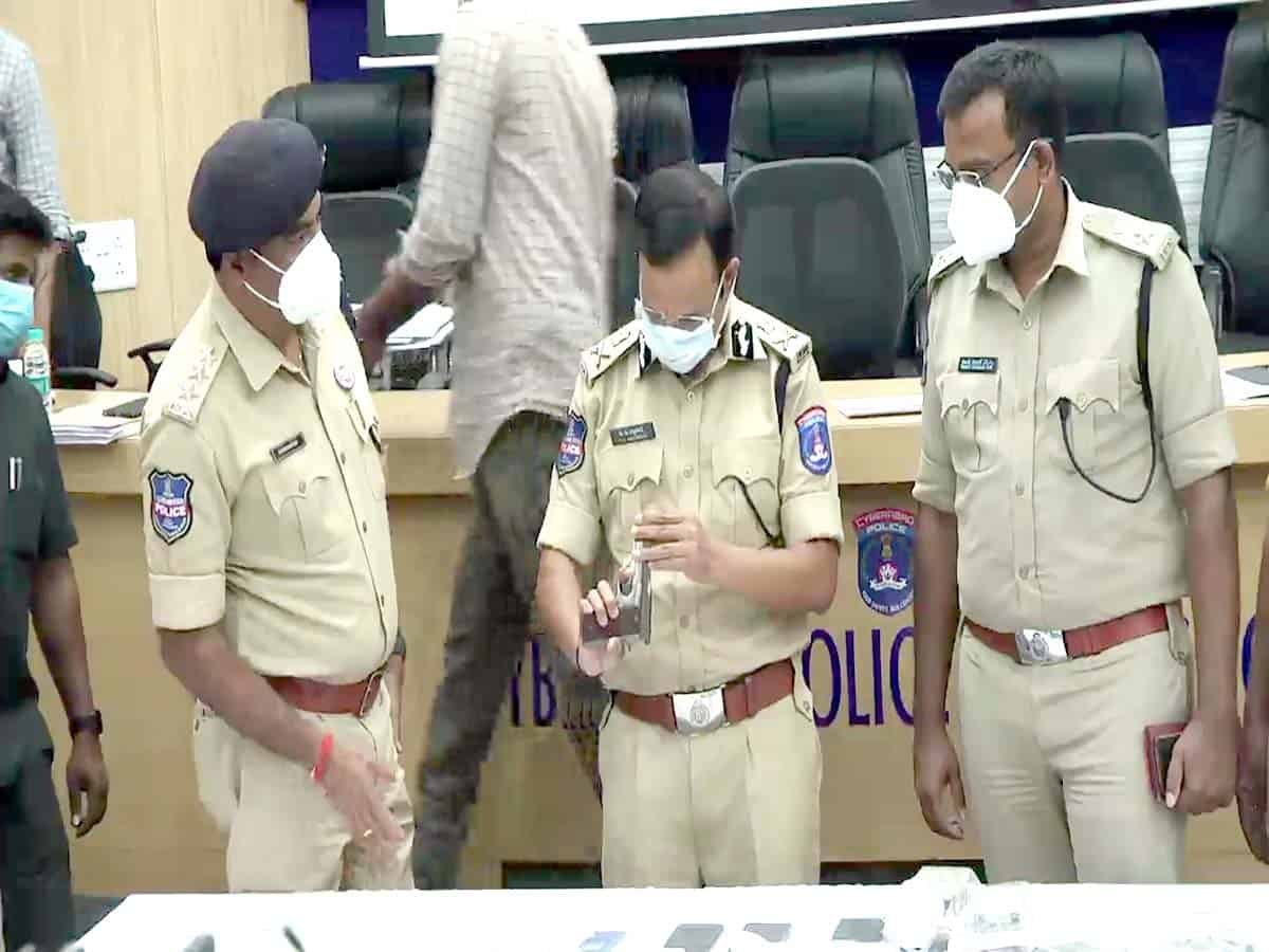 Kukatpally robbery case, two arrested for killing security guard