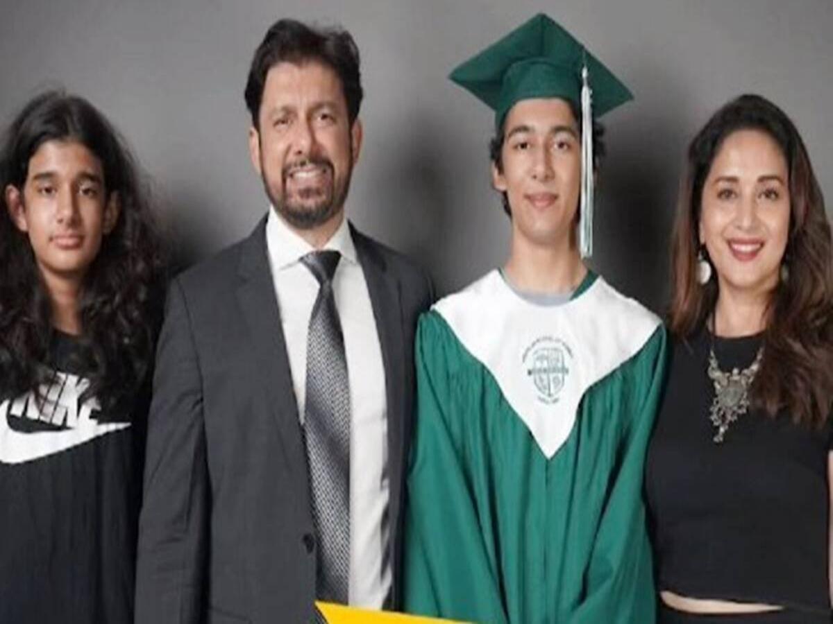 Madhuri Dixit's son Arin graduates from high school [Video]
