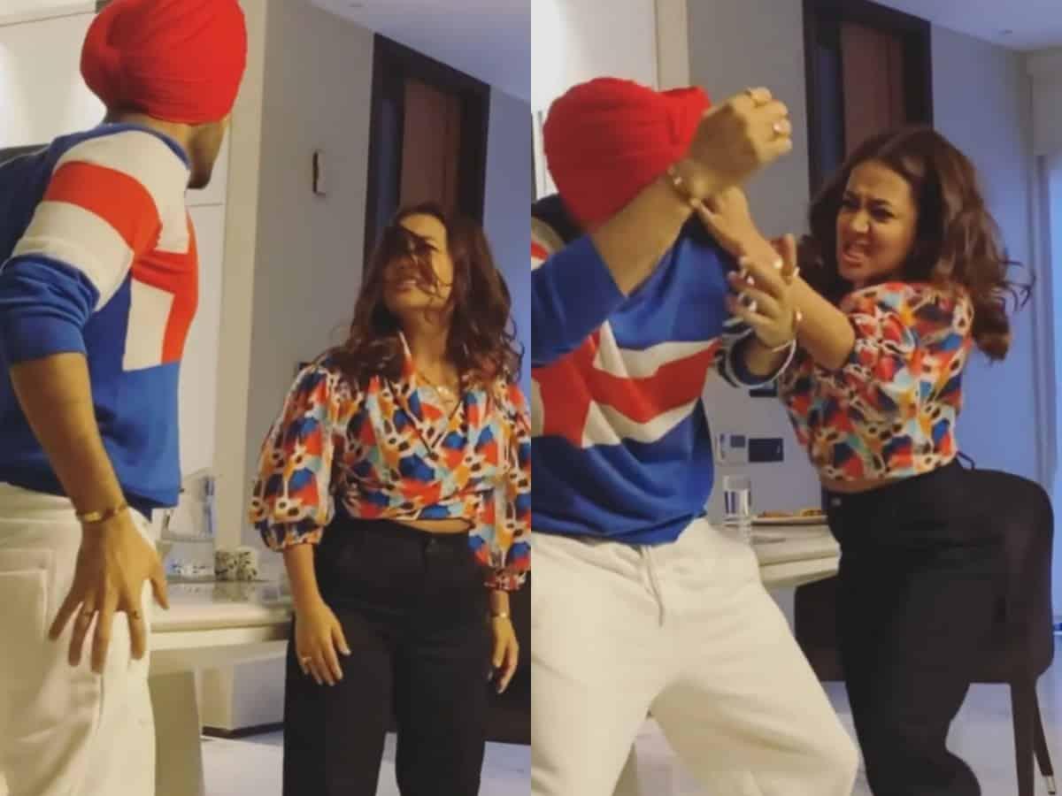Neha Kakkar, Rohanpreet Singh indulge in ugly fight (VIDEO)