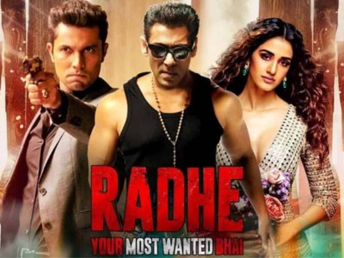 Salman Khan's Radhe earns Rs 59,920 in India in first weekend