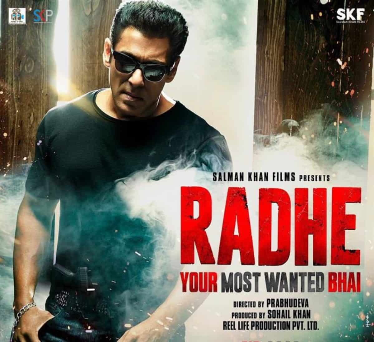 Salman Khan's Radhe revenue to be used for COVID relief!