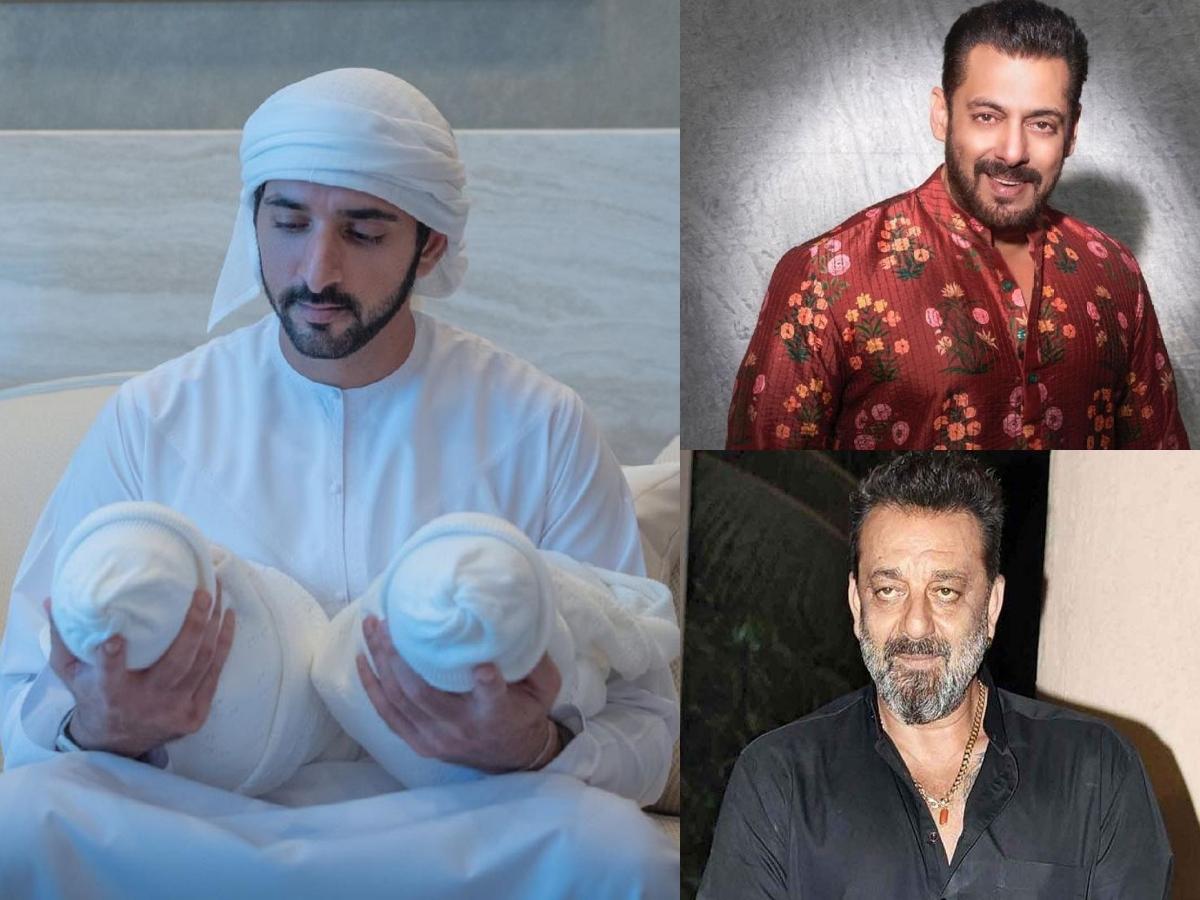 Salman Khan, Sanjay Dutt congratulate Dubai's Sheikh Hamdan on welcoming twins