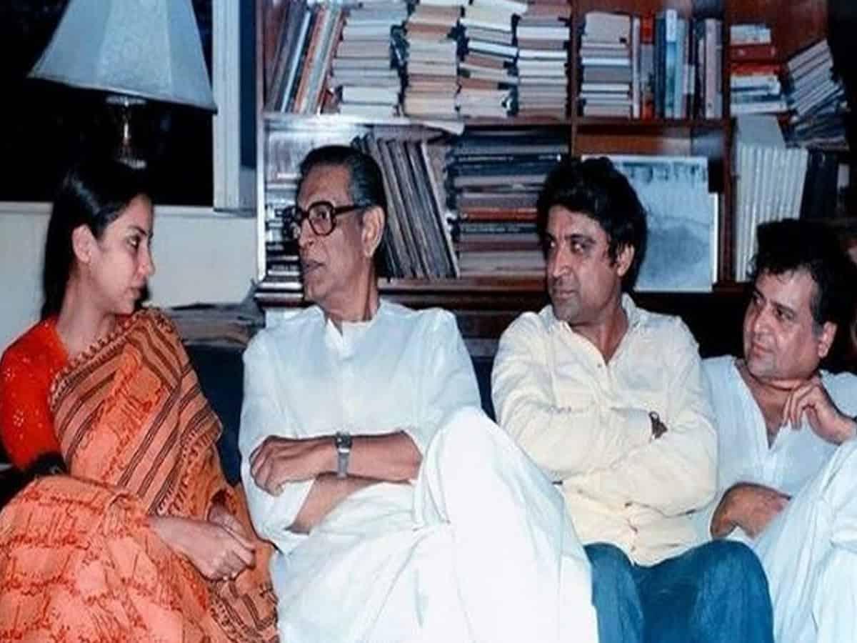 Shabana Azmi remembers legendary filmmaker Satyajit Ray on his birth centenary