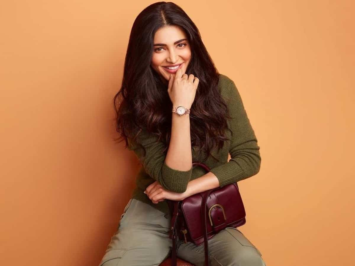 Shruti Haasan: I want to share my truth and speak with ease