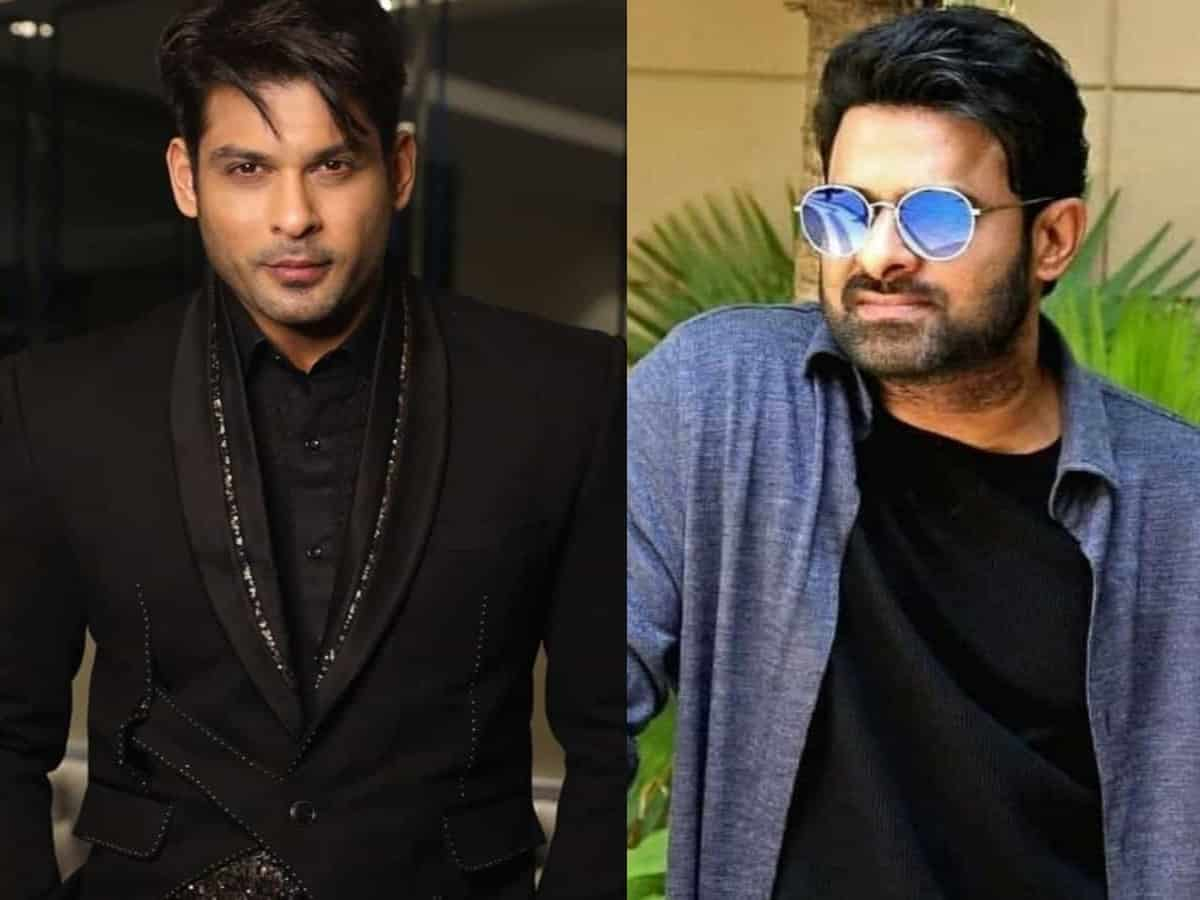 Sidharth Shukla to share screen space with Prabhas