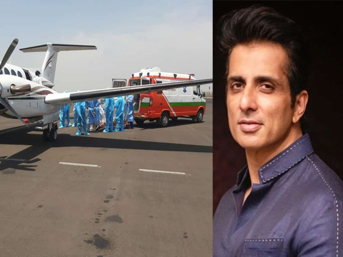 Girl who was airlifted to Hyderabad on Sonu Sood's help passes away; actor mourns