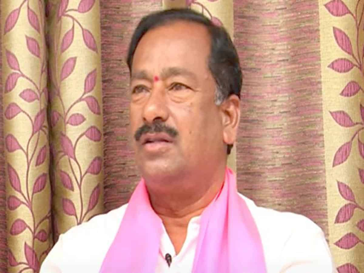 TRS Uppal MLA Subash Reddy booked for land dispute