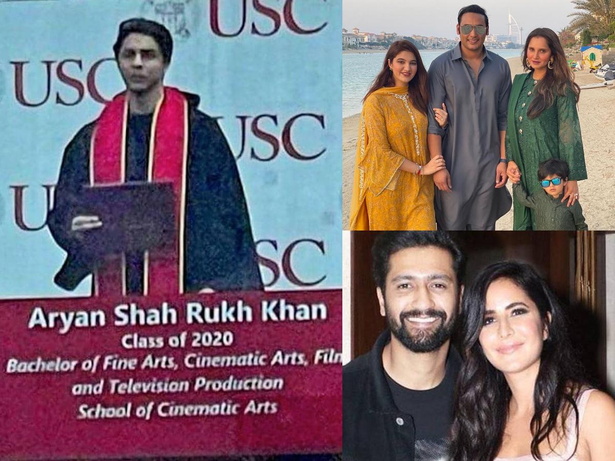 Trending pics: Aryan Khan's graduation day, Katrina's wish for bf Vicky & more