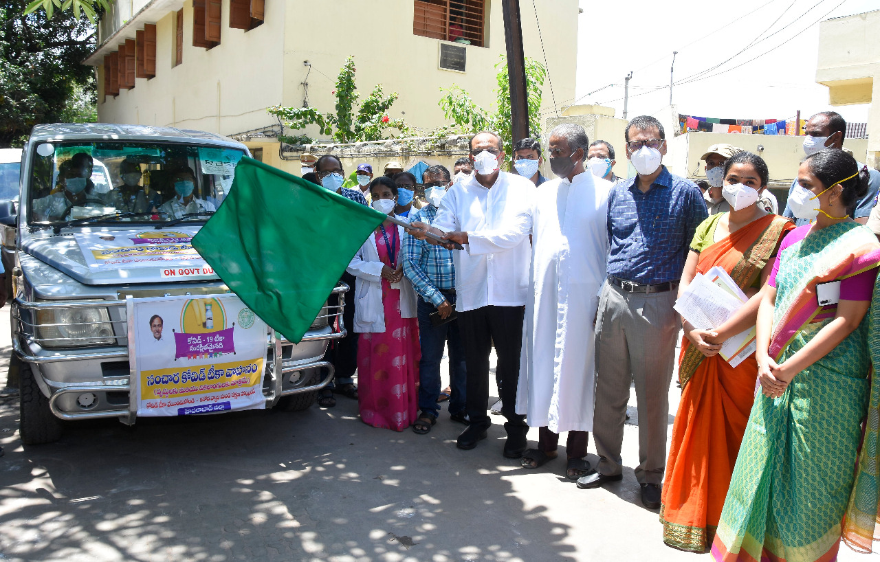 COVID-19: Telangana govt starts vaccination for elderly, disabled