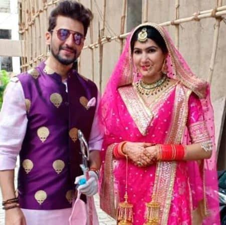 Avika Gor has 'secret child' with co-star  Manish Raisinghan? Duo reacts