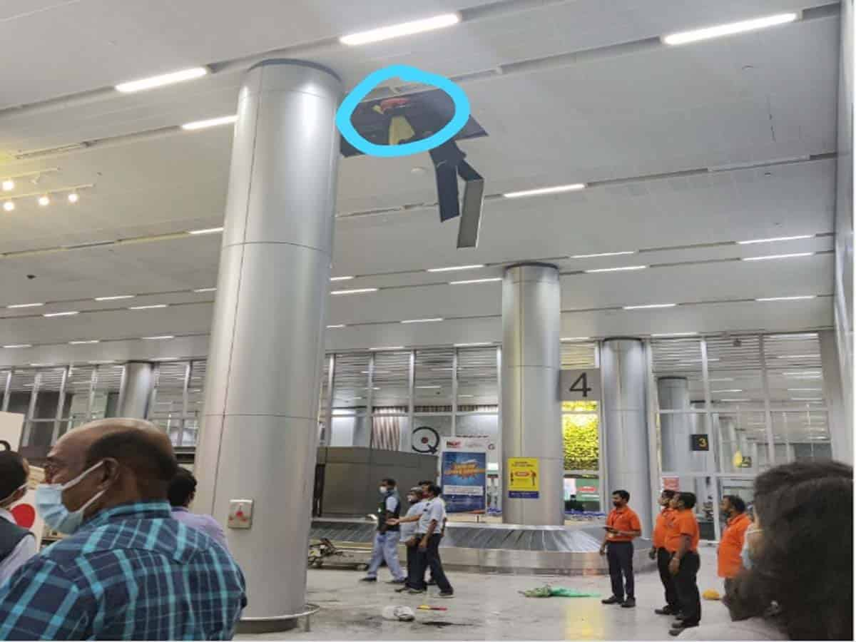 Plumber dies at Hyderabad airport after inhaling gas