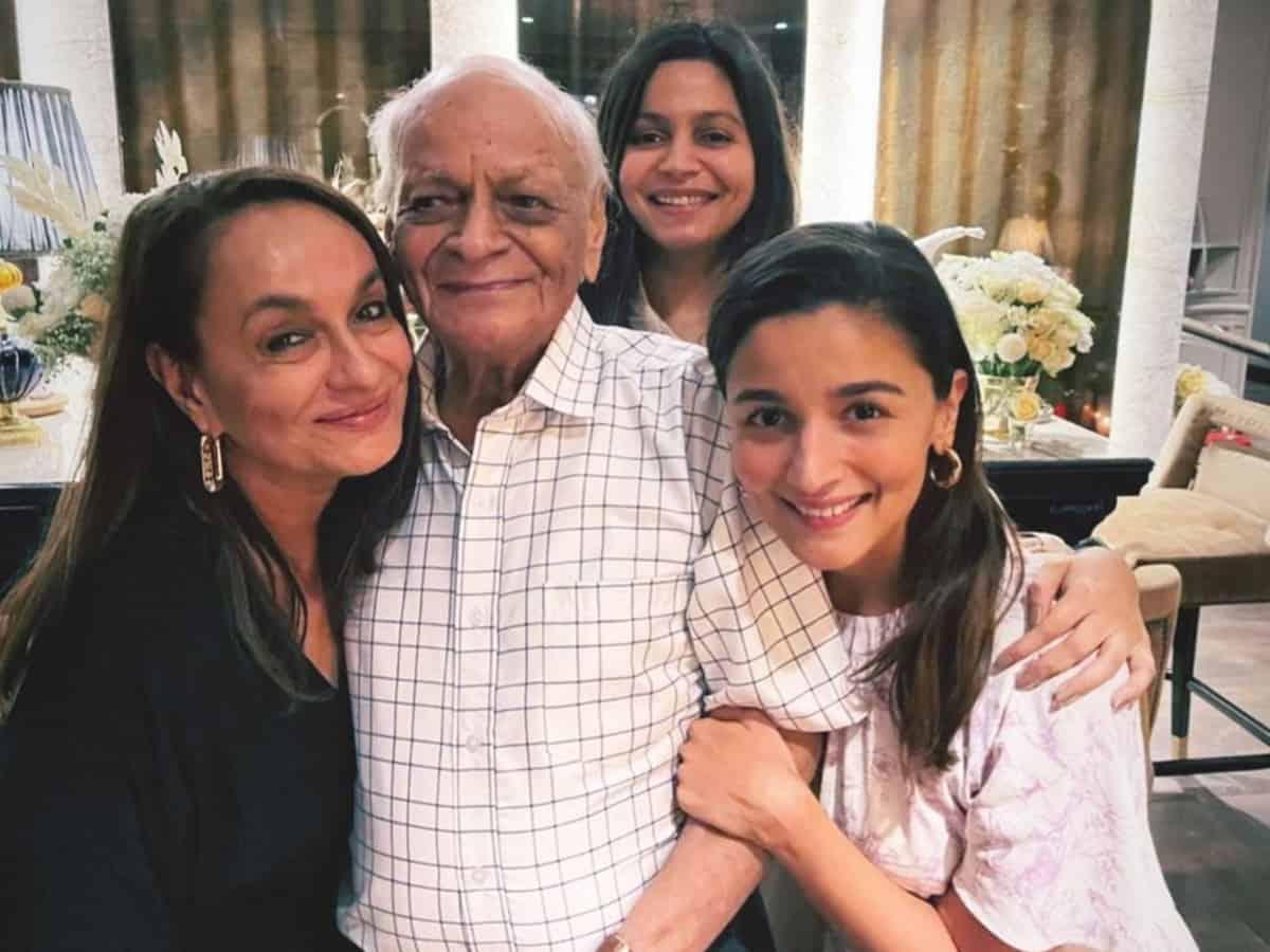 Alia Bhatt considers her grandfather an 'inspiration'