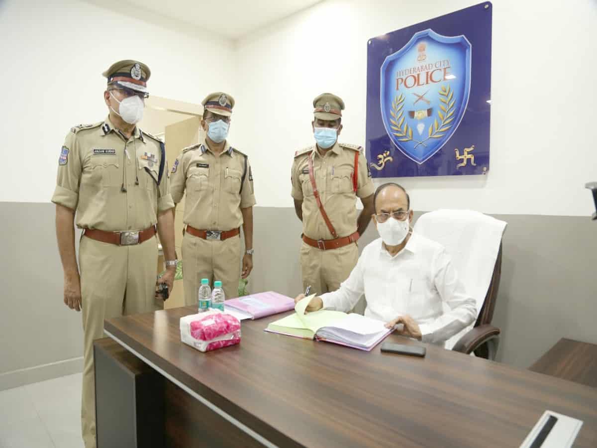 Telangana Police is citizen's friendly: Home Minister Mahamood Ali