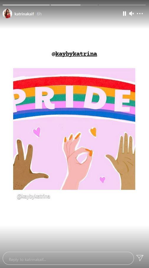 Katrina Kaif celebrates Pride Month with new social media post