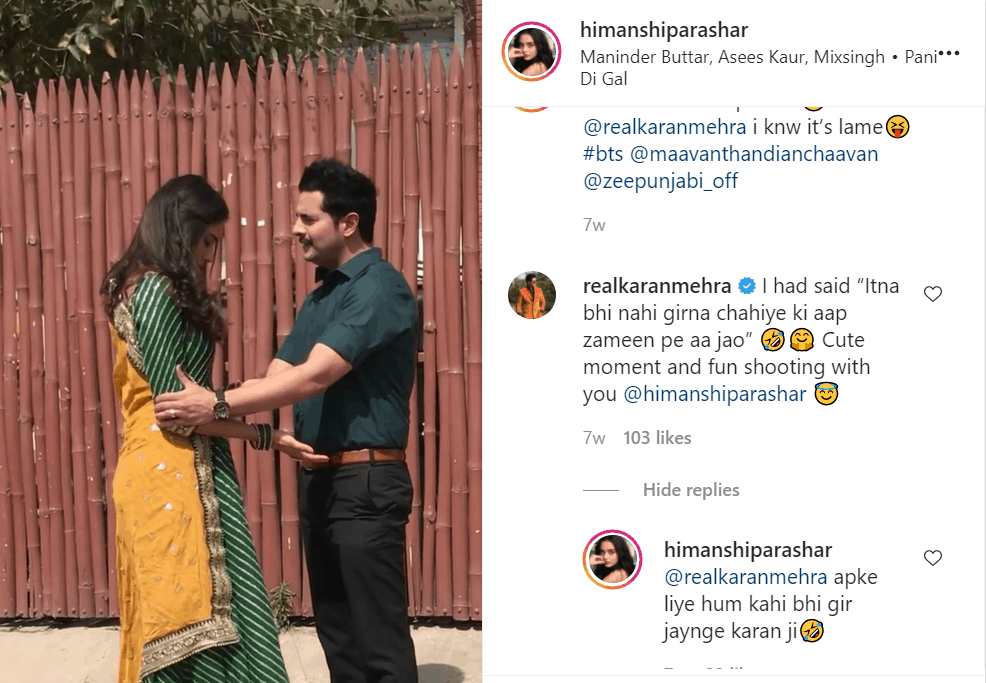 Karan Mehra's chats with co-star go viral after Nisha Rawal accused him of extramarital affair