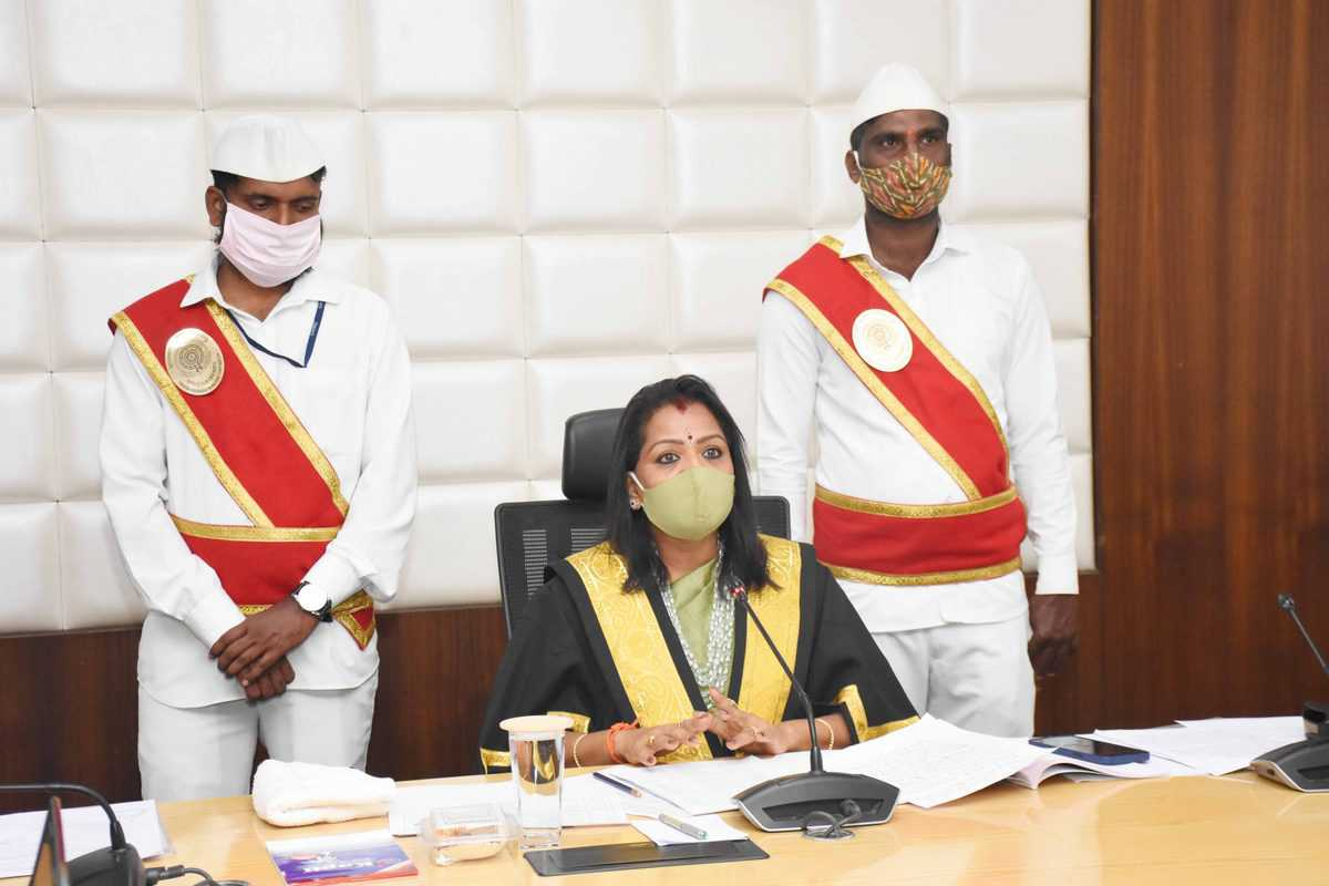 In virtual meet, GHMC Governing Council approves Rs 6,841 budget