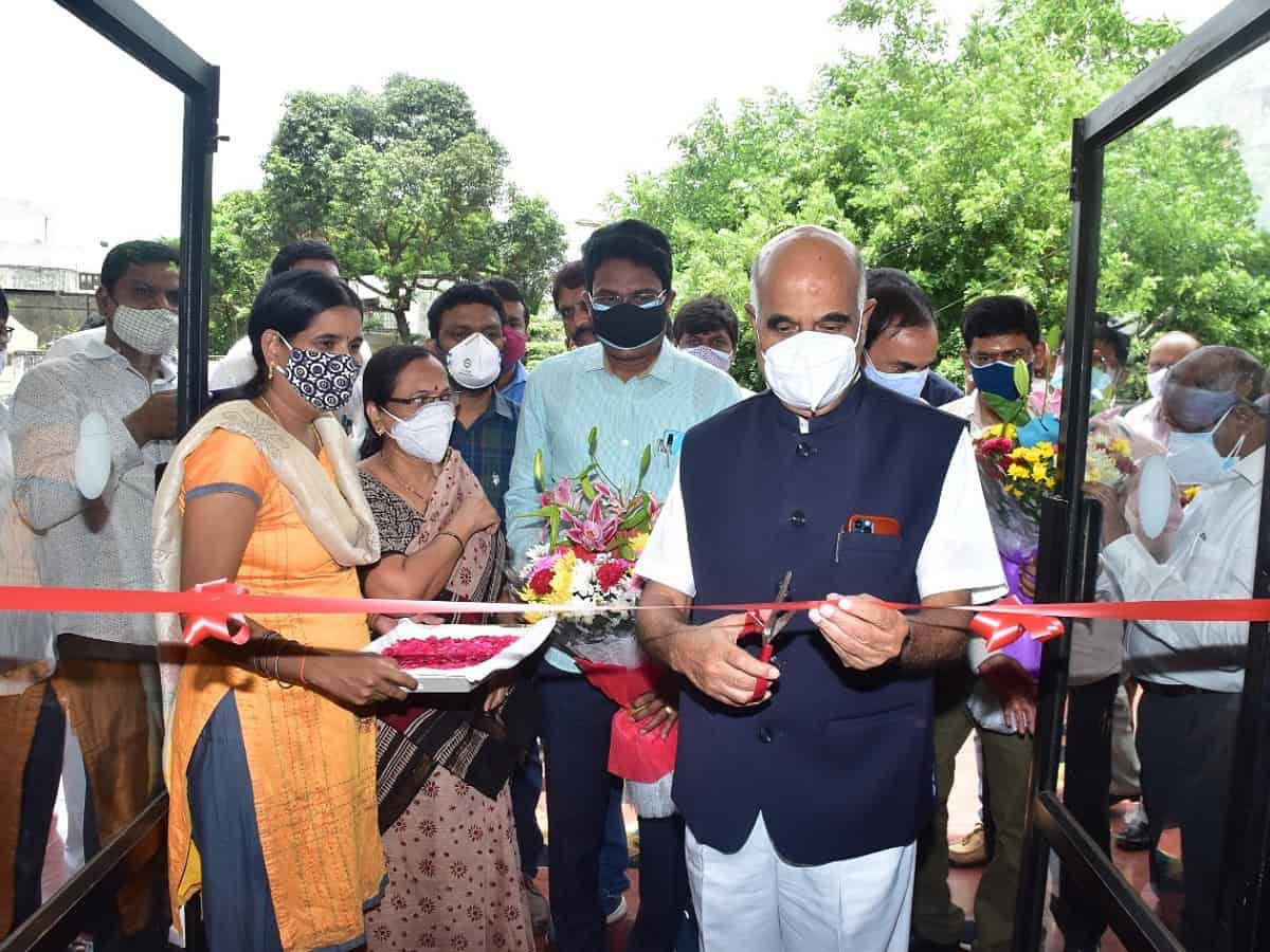 Hyderabad: Vaccination drive for power sector staff begins