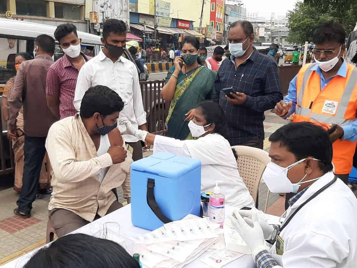 GHMC launches mobile vaccination vans which can administer 300 doses per day