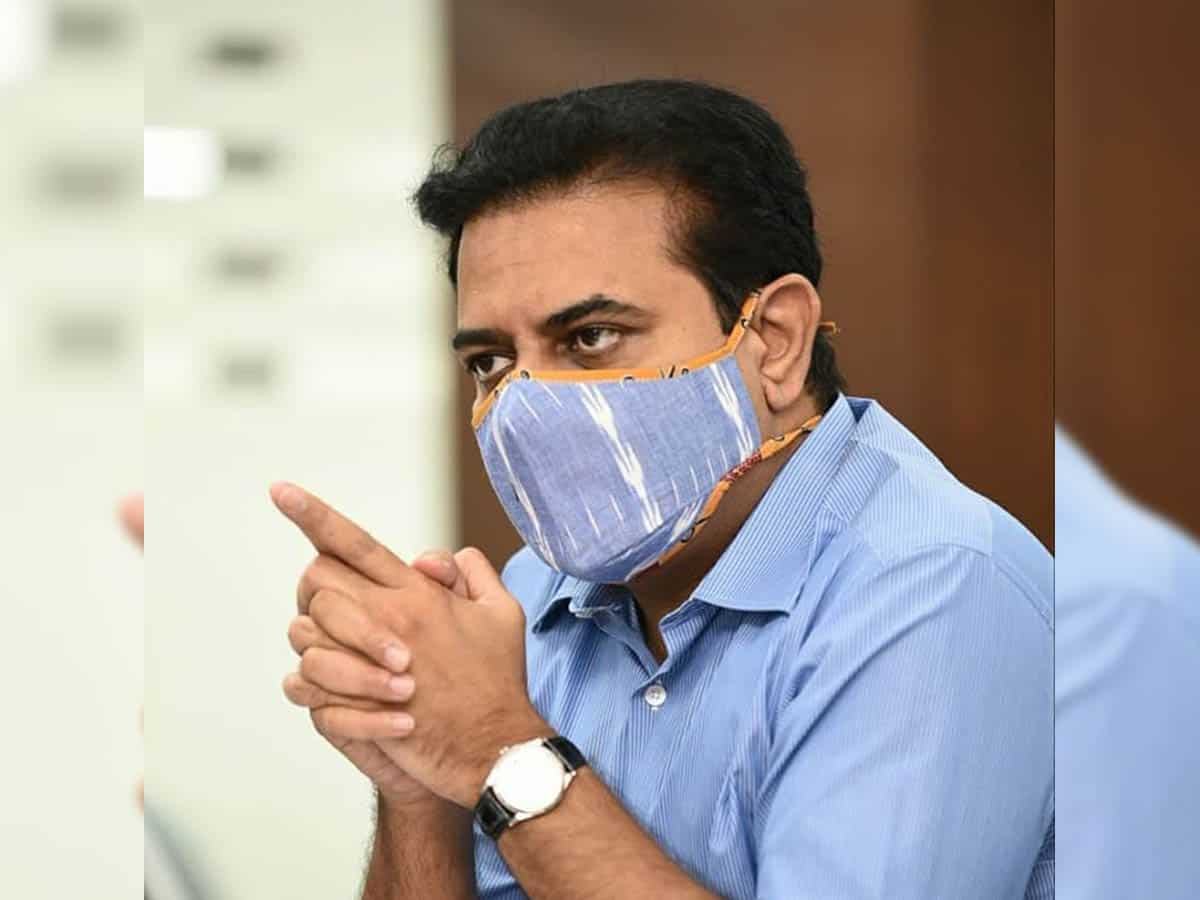 Establish vaccine testing center in Hyderabad: KTR to Modi govt