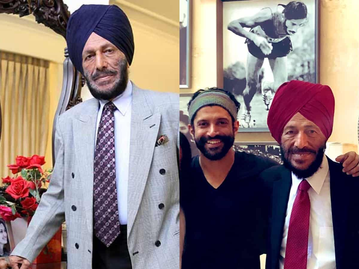 Condolences pour in for Milkha Singh; 'I love you with all my heart' says Farhan Akhtar