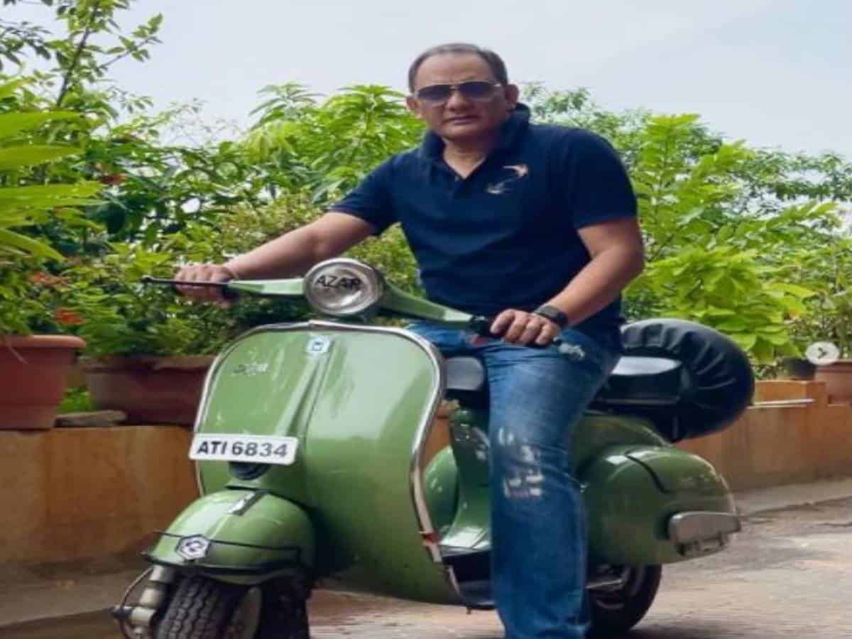 Azhar posts photos of old scooter — 'acknowledgment of my talent'