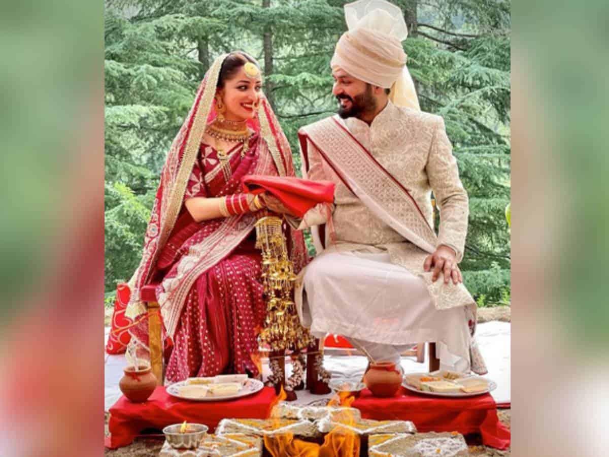 Yami Gautam gets married to 'Uri' director Aditya Dhar