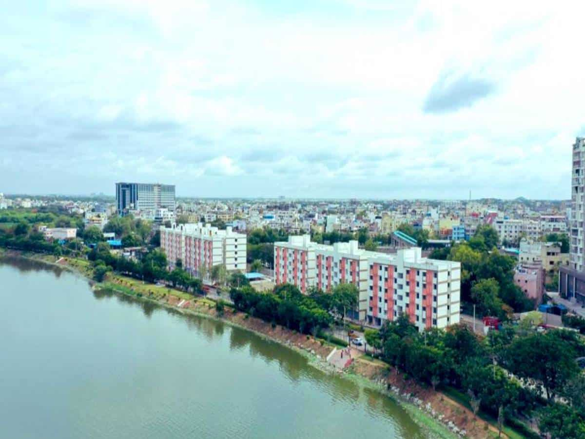 Hyderabad: KTR inaugurates 2BHK houses for poor