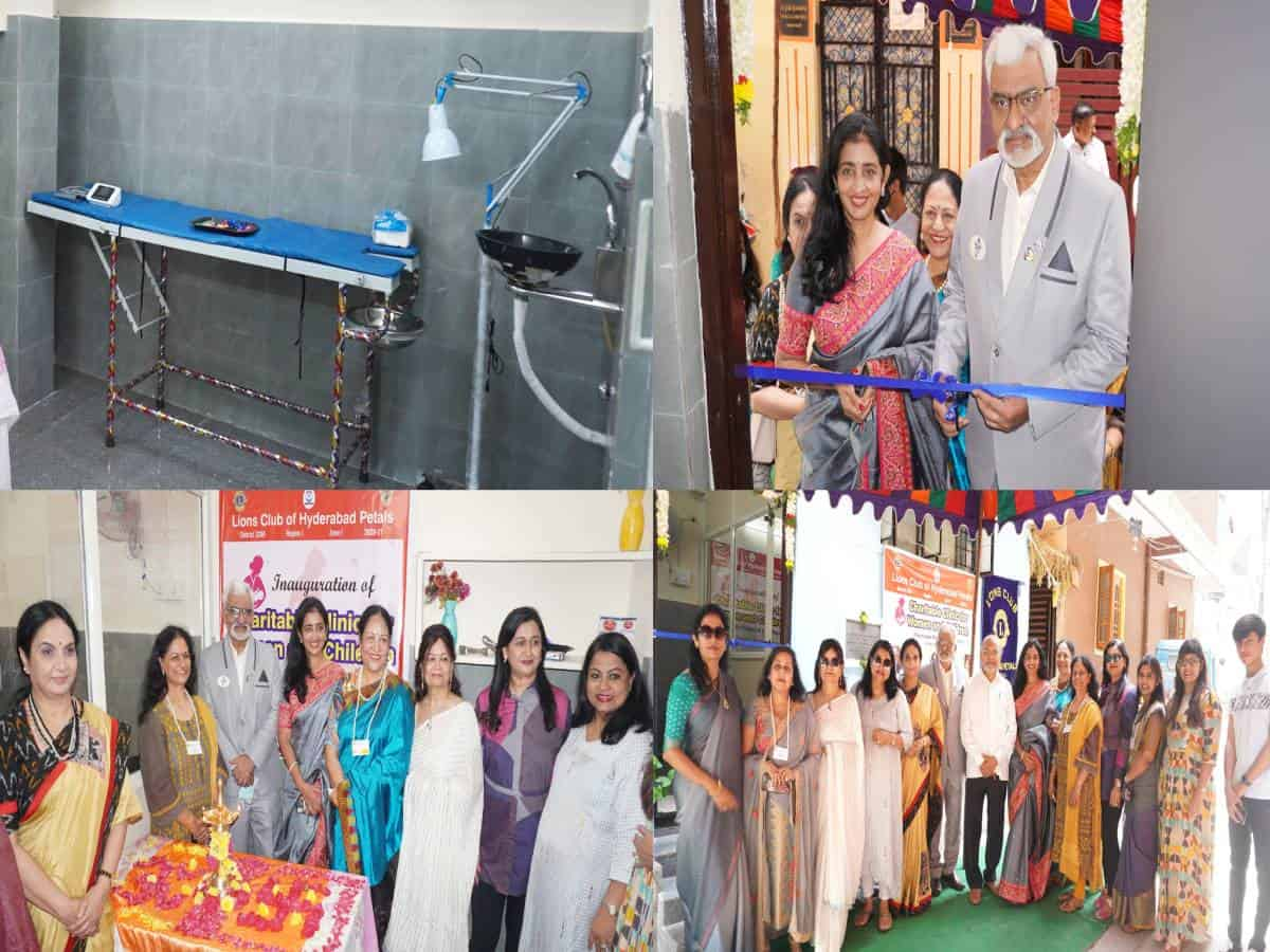 Hyderabad: All-women Lions Club inaugurates charitable clinic