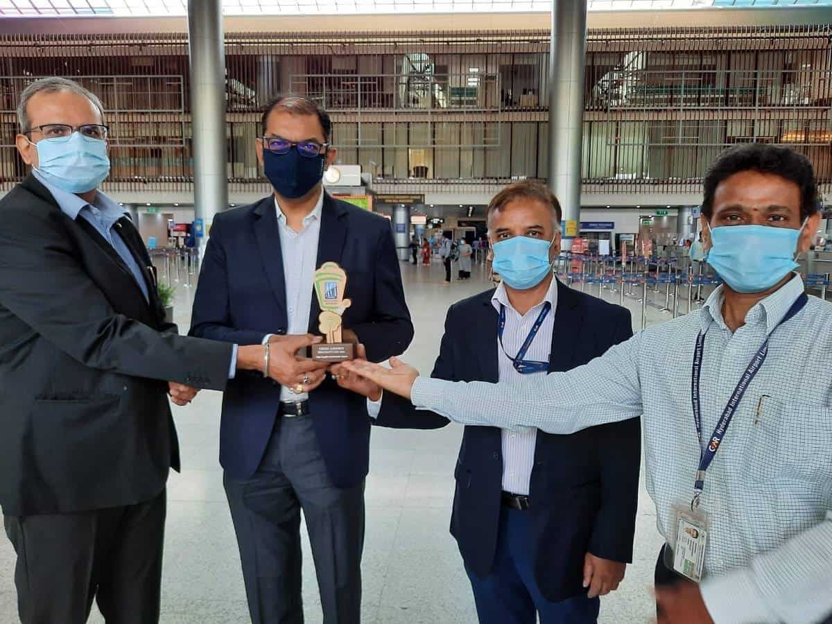 Hyd Airport bags ACI-Asia Pacific Green Airports Gold Recognition