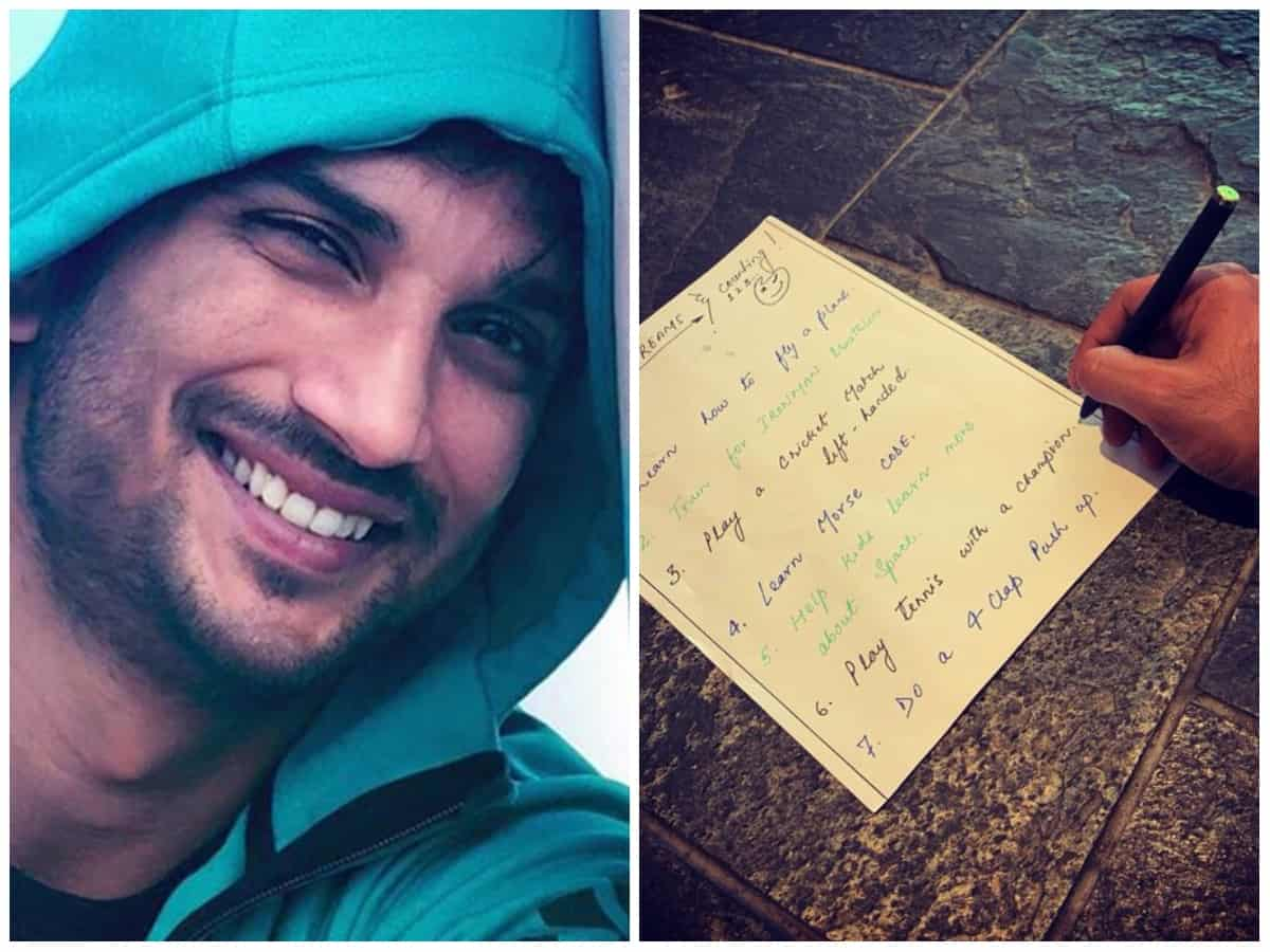 Remembering SSR: Of the 50 wishes on his bucket list, Sushant had fulfilled 12