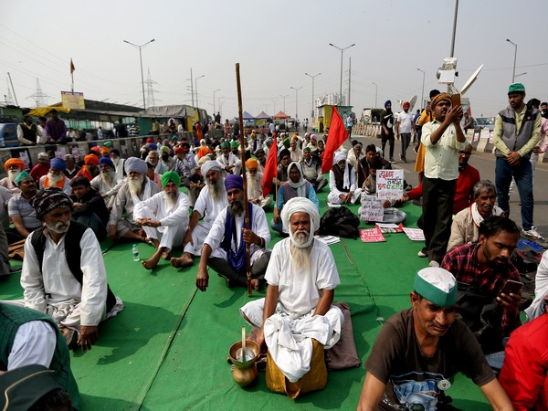 Farmers protest in Hyderabad to mark 7 months of their agitation against new farm laws