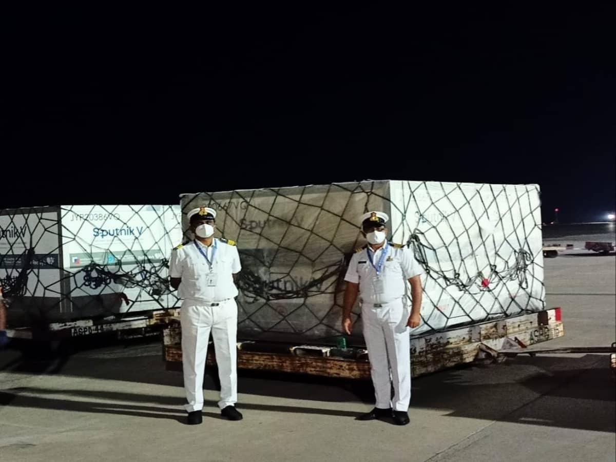 Hyderabad receives 56.6 MT of Sputnik V; largest shipment of vaccine ever