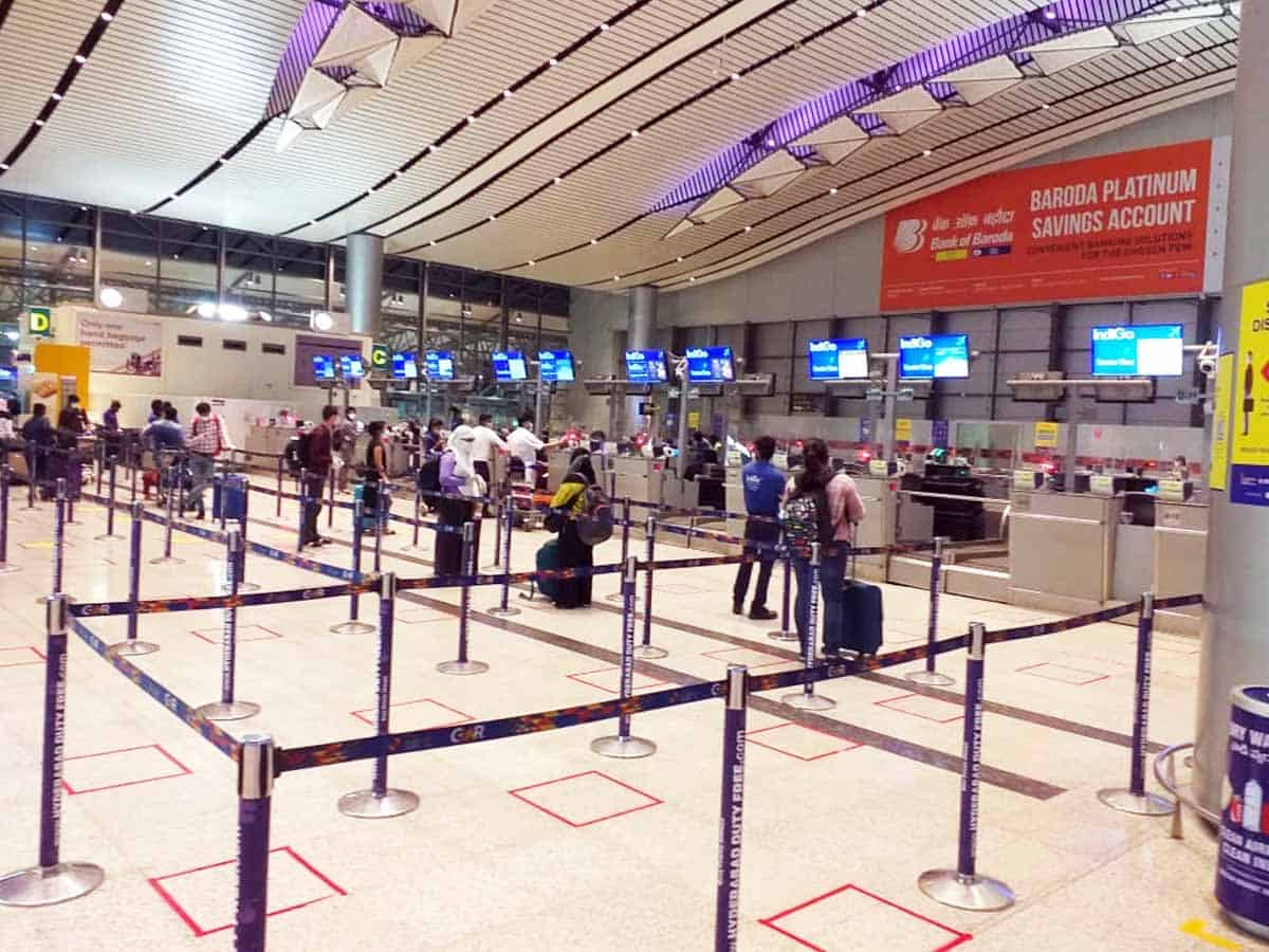 Hyderabad Airport ensures strict adherence to Covid protocols