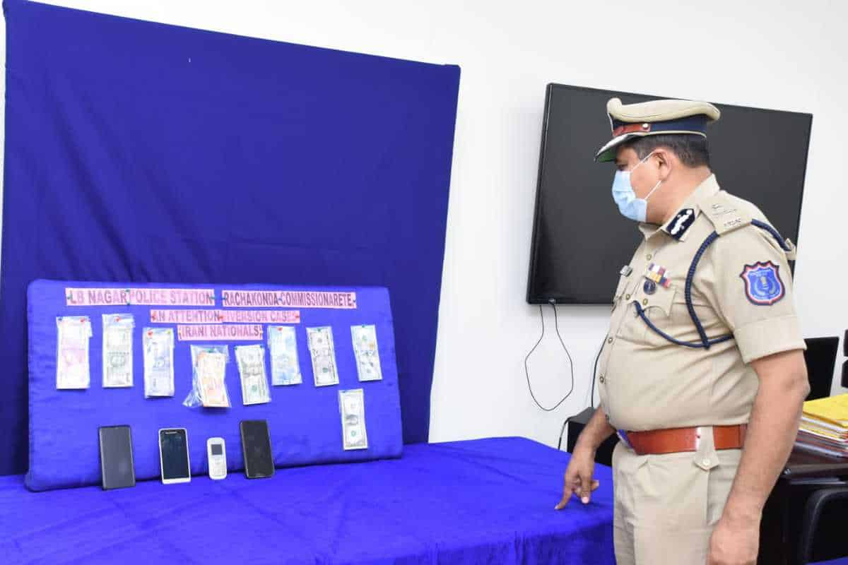 Hyderabad: 3 Iranian nationals held for attention diversion theft scam