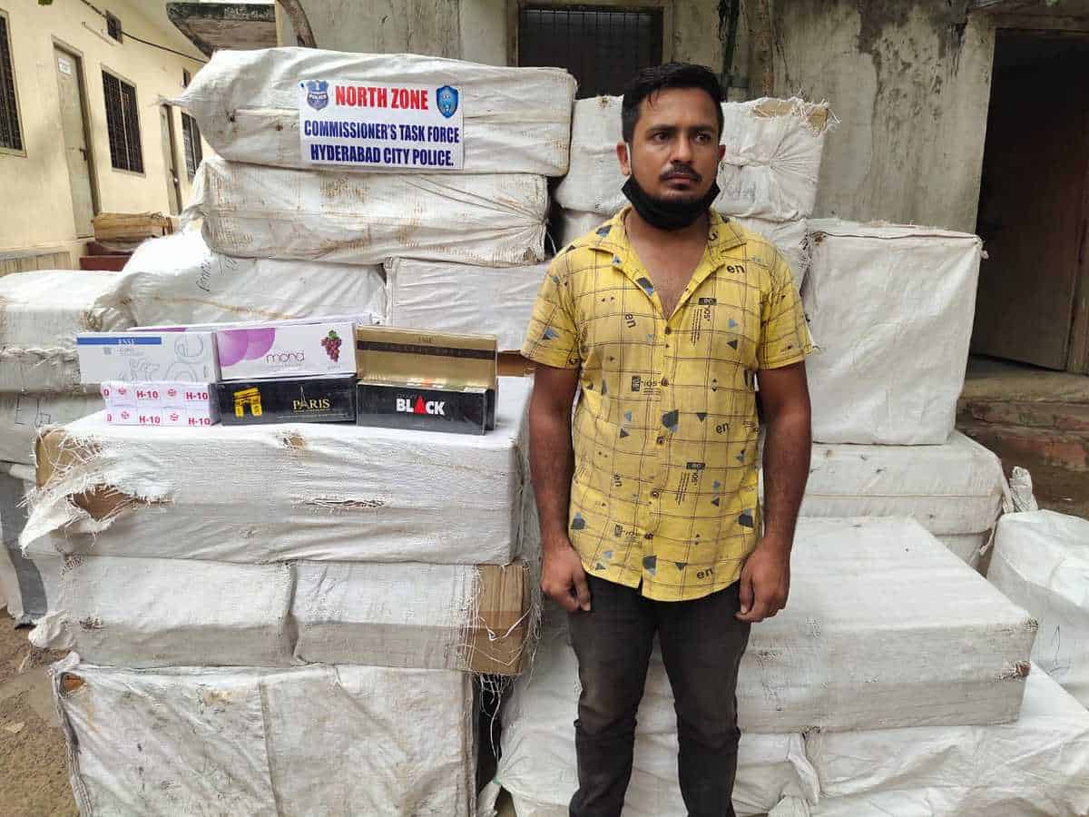 Hyderabad: Rajasthan native held for selling illegal cigarettes