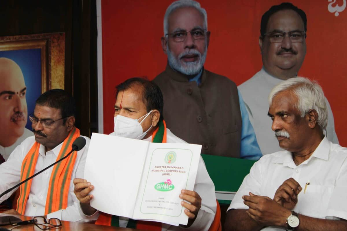 TRS limiting voices of opposition corporators in GHMC, alleges BJP