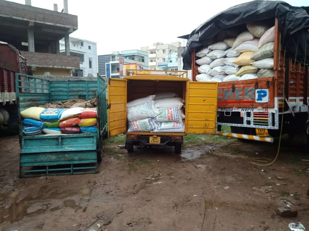 Hyderabad: Three held for illegally transporting PDS rice