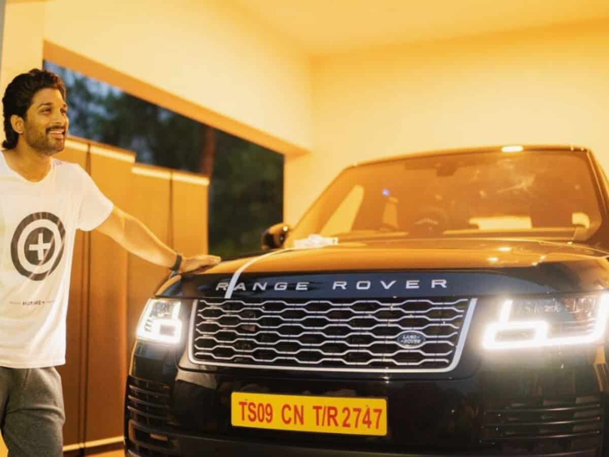 Range Rover to Hummer H2: Here's Allu Arjun's swanky car collection
