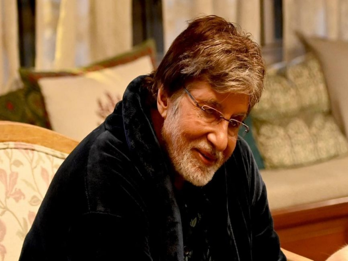 Amitabh Bachchan shares a picture with his special 'co-star'