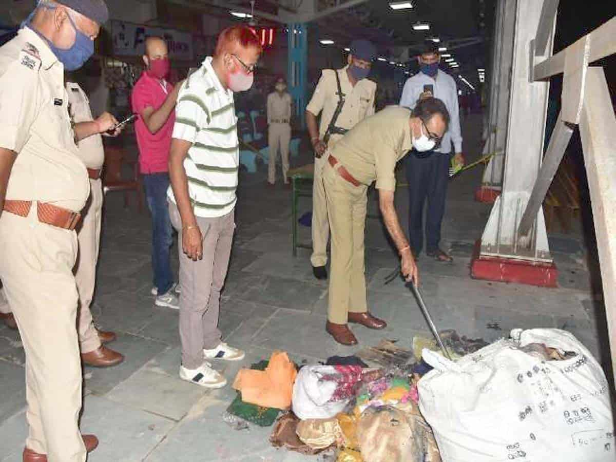 Hyderabad: Two persons held in city for Darbhanga railway parcel blast