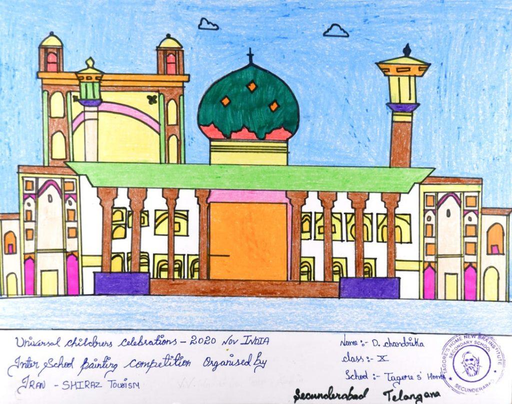 Hyderabad kids impress Iran with their creativity