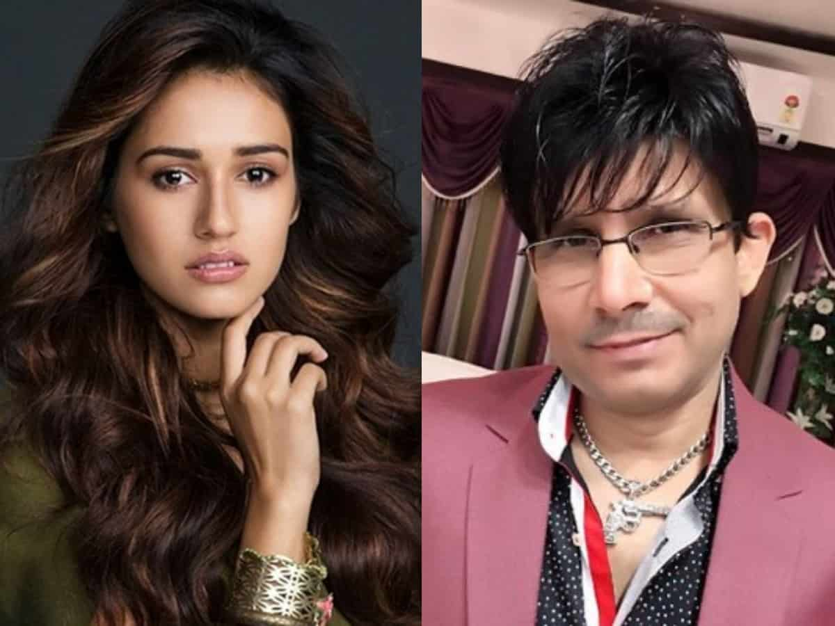 KRK attacks Disha Patani, shares her unseen pics with ex-bf