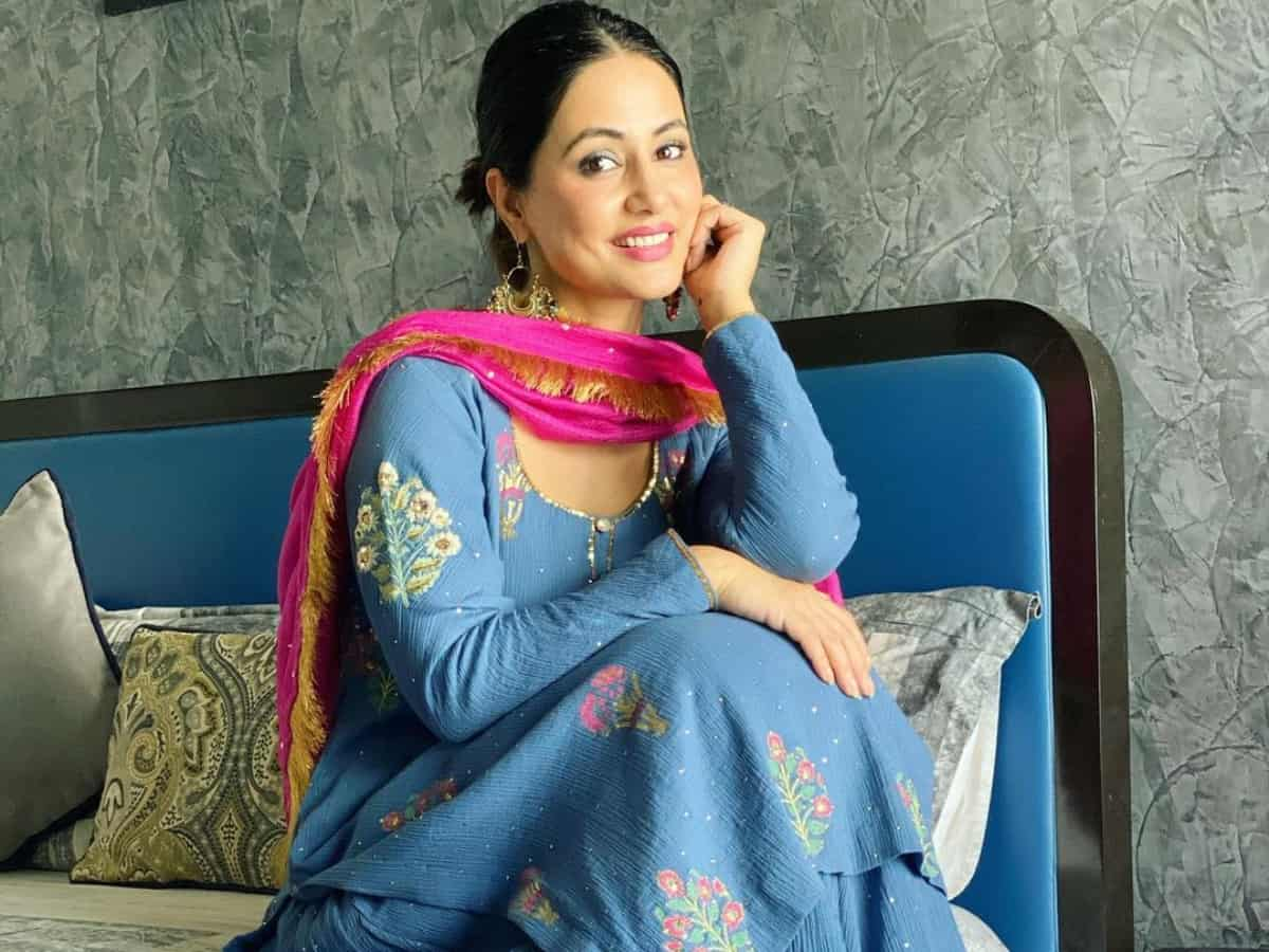 Hina Khan pens emotional note for her late father