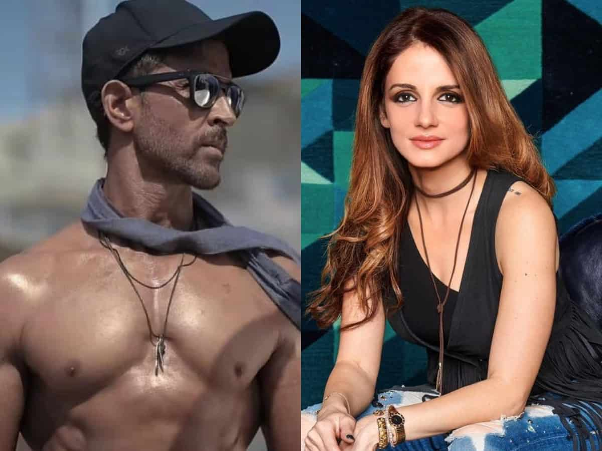 Hrithik Roshan goes shirtless, Sussanne Khan's comment is unmissable