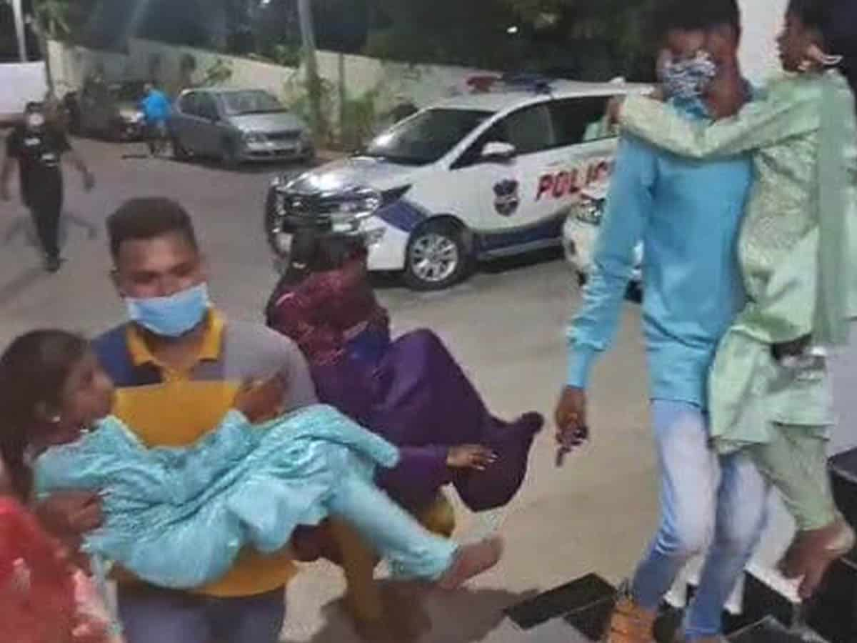 Hyderabad: Gang attacks women and children at a valima party