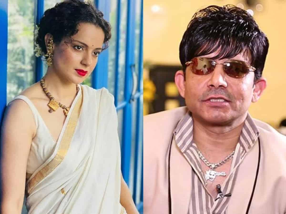 KRK declares Kangana's film on Indira Gandhi a 'big flop'