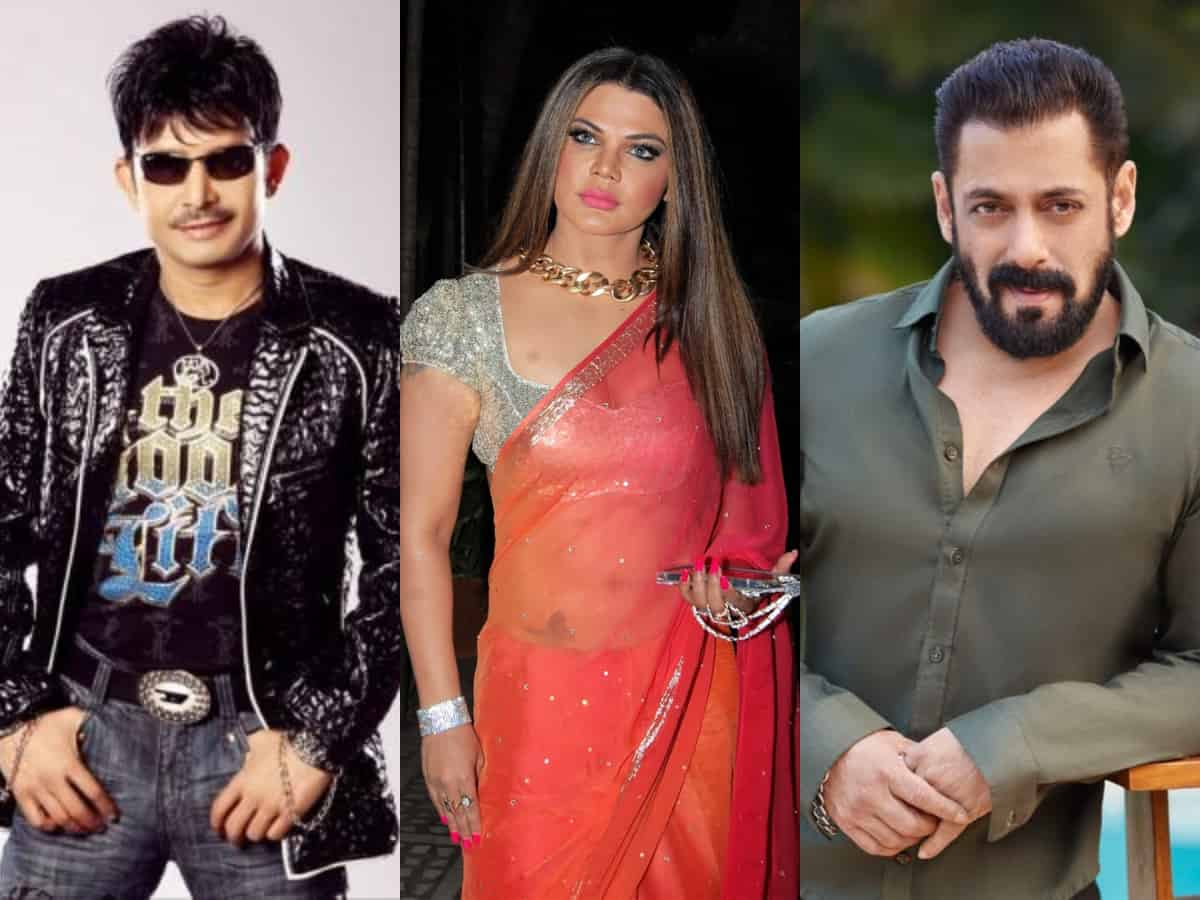 'Ek number ka jhoota': Rakhi Sawant slams KRK for attacking Salman